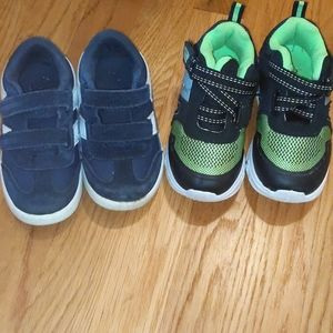 Shoes- toddler boy shoes - good condition
